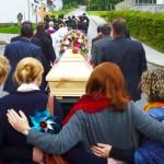 Begräbniszug